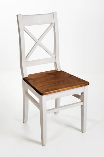 Krzesło cottage oparcie krzyżowe